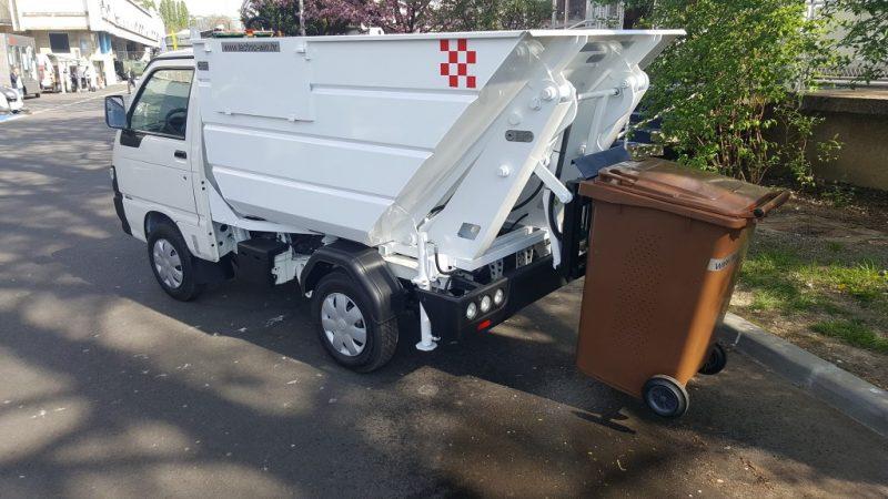 Proizvodnja ide dalje, uspješno smo proizveli nadogradnju od 3 kubika za mali kamion smećar s podizaćem kanti i kipanjem smeća.