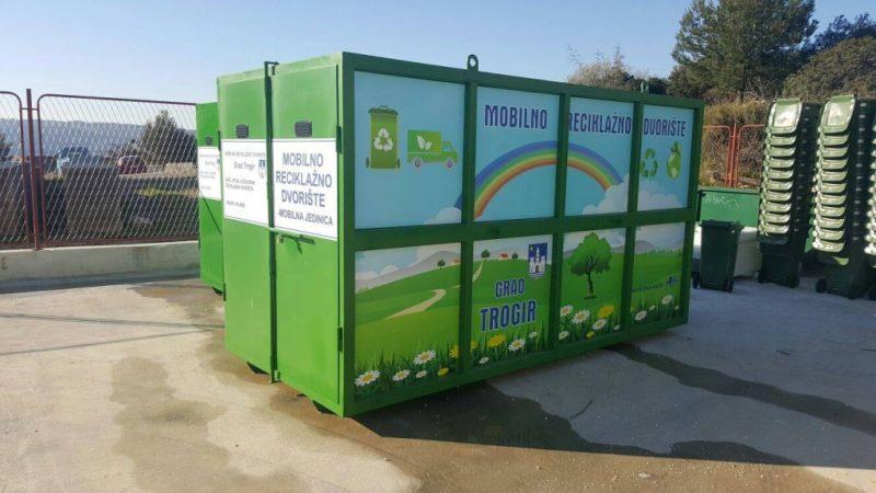 GRAD TROGIR je bogatiji za dva Mobilna reciklažna dvorišta, kako bi što bolje sortirali otpad i brinuli se o okolišu.