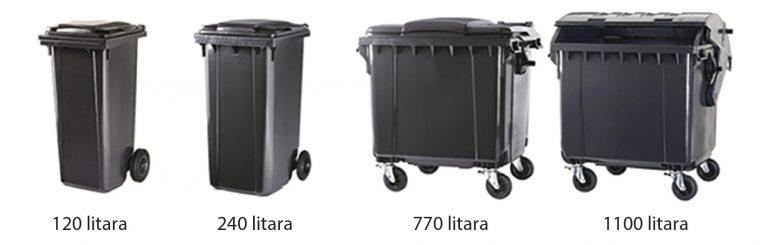 Techno Win, spremnici za otpad