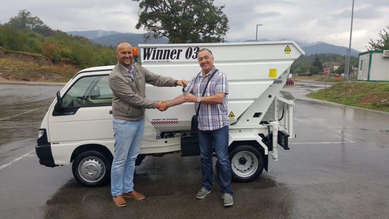 Isporuka WINNER-a u komunalac Opatija