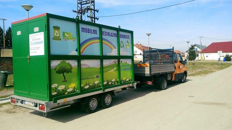 ČESTITAMO komunalnoj tvrtki Unikom d.o.o. iz Osijeka na nabavci mobilnog reciklažnog dvorišta! ♻️ODVOJENO PRIKUPLJANJE OTPADA ♻️100% EKOLOGIJA Mobilno reciklažno dvorište omogućuje građanima adekvatno odvajanje otpada kako bi se smanjila ukupna količina komunalnog otpada te sačuvao okoliš. 
