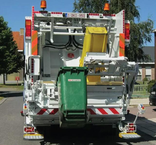Techno Win, dvokomorni kamioni za prikupljanje otpada, vdk belgium
