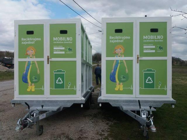 ČESTITAMO komunalnom poduzeću 1.MAJ LABIN na nabavci dva mobilna reciklažna dvorišta na prikolici! ♻️ODVOJENO PRIKUPLJANJE OTPADA ♻️100% EKOLOGIJA