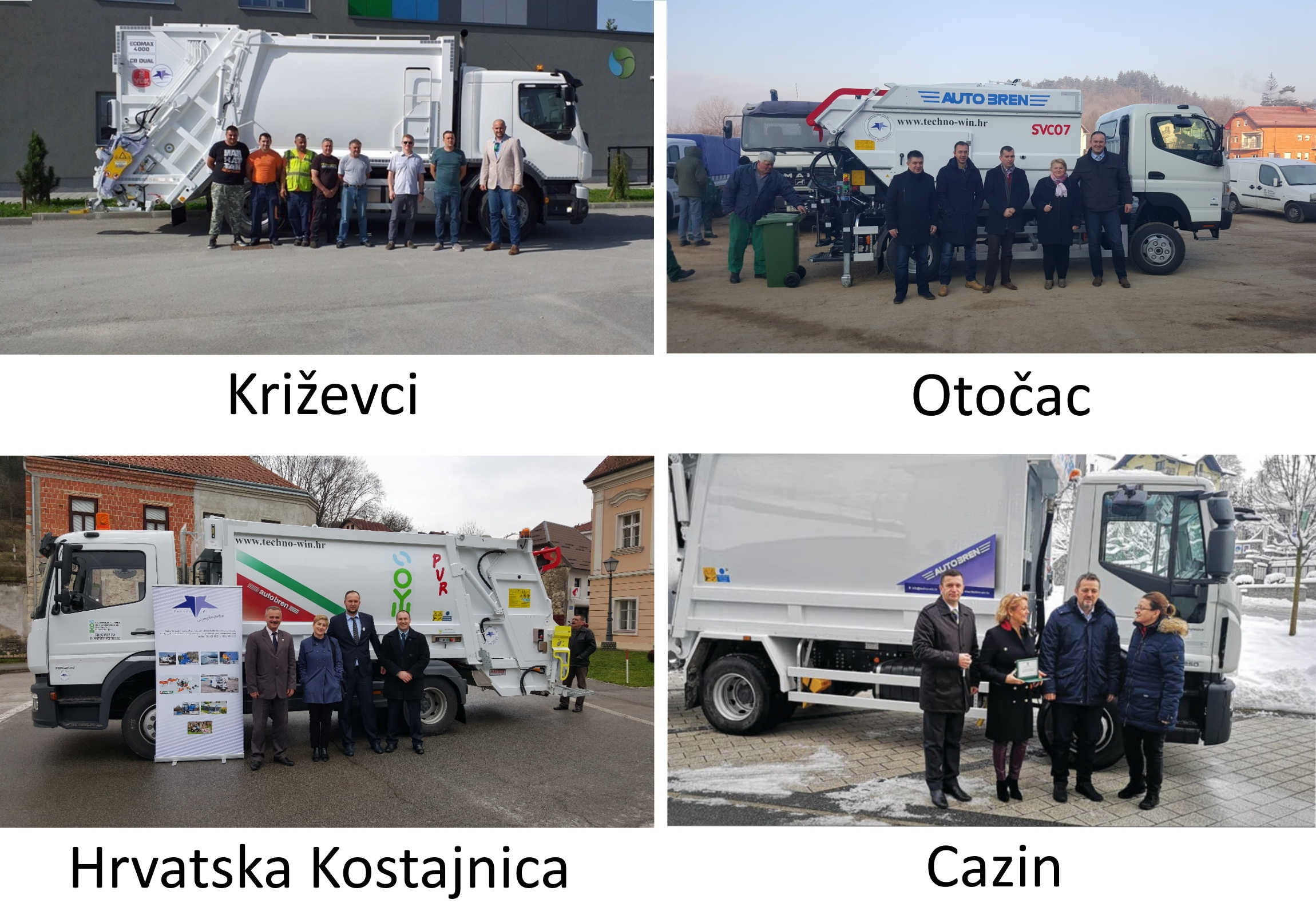 autobren, odvoz otpada, kamioni za odvoz otpada, selektiranje smeća